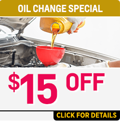 Click to View Our $15.00 OFF - Lube Oil and Filter Change at Capitol Chevrolet in Salem Near Keizer, OR
