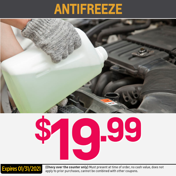 Genuine GM Antifreeze Coolant Parts Special