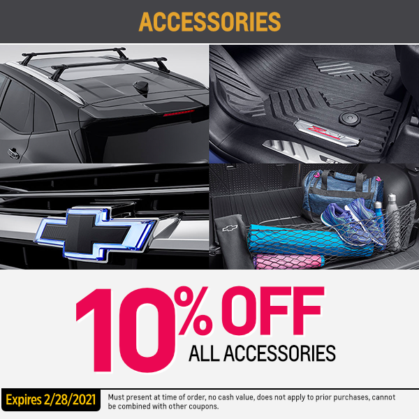 10% OFF all accessories Parts Special