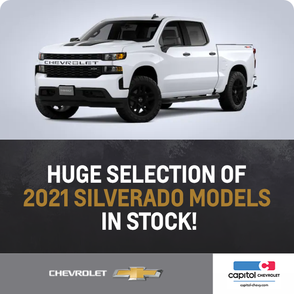 New Chevrolet Lease And Purchase Discount Offers In Salem Or