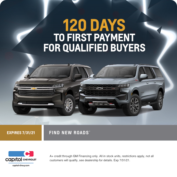 120 Days to First Payment for Qualified Buyers