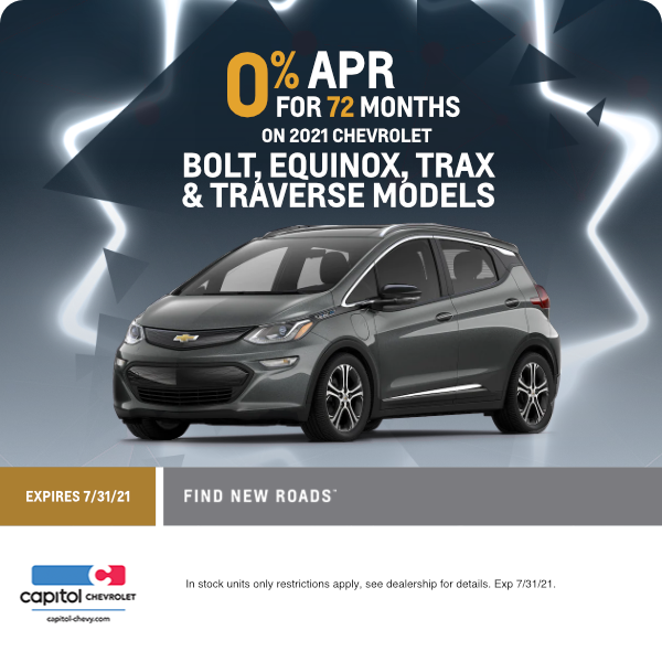 2021 Bolt, Equinox, Trax, and Traverse Finance Special in Salem, OR