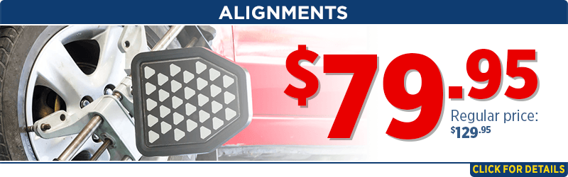 $79.95 alignments done in our shop Service Special at Capitol Subaru of Salem