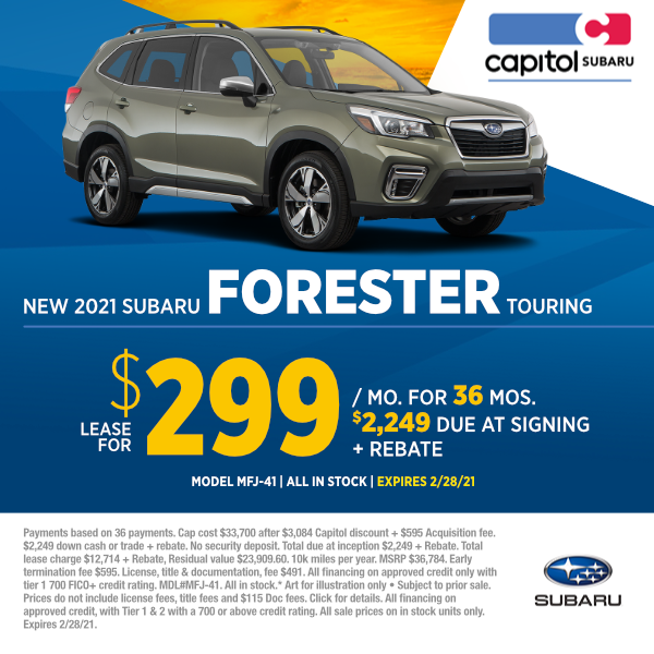 2021 Subaru Forester Touring Lease Special in Salem, OR