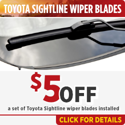 Click to view this Toyota Sightline Wiper Blade service special in Salem, OR