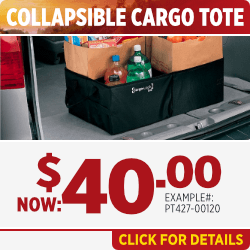 Click to Print this Collapsible Cargo Tote Parts Special in Salem, OR