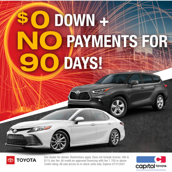 $0 Down, No Payments for 90 Days!in Salem, OR
