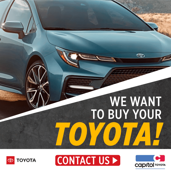 We want to buy your Toyota