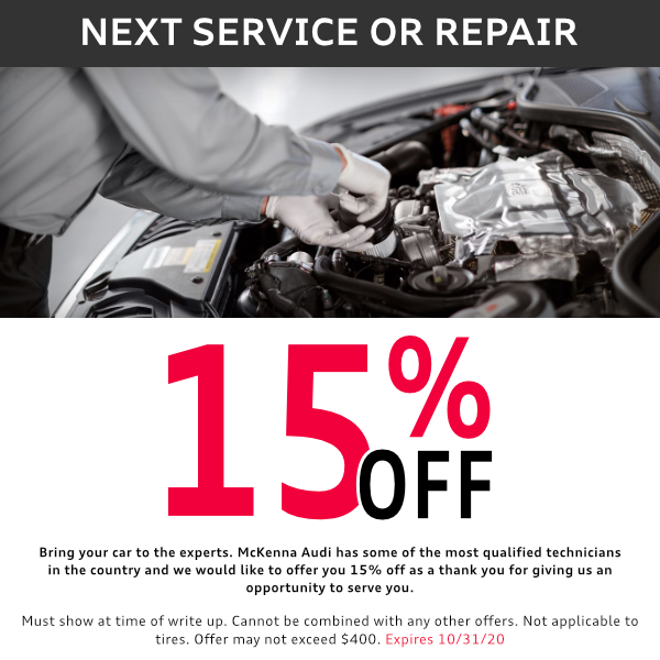 15% off service for All Customers