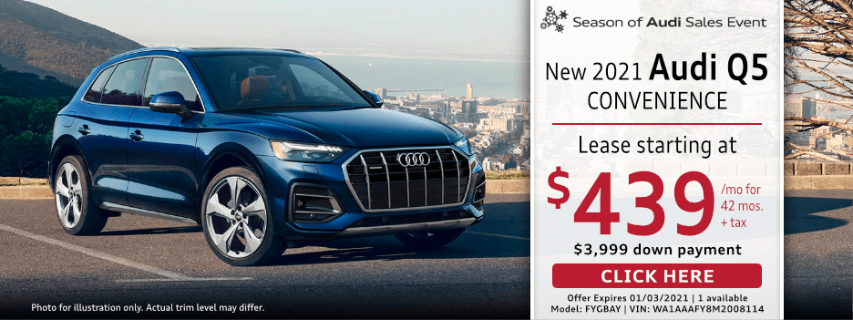 New 2020 Audi Q5 Lease Special in Norwalk, CA