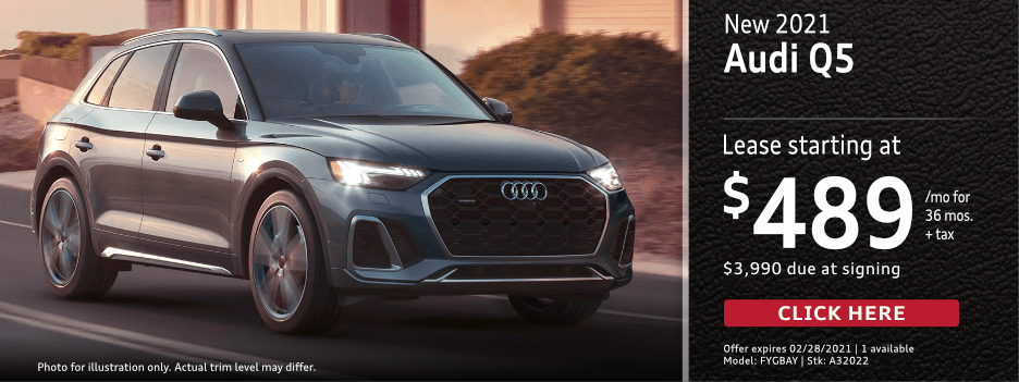 New 2021 Audi Q5 Base Lease Special in Norwalk, CA