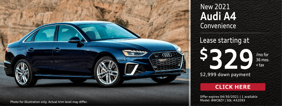 New 2021 AUDI A4 Lease Special in Norwalk, CA