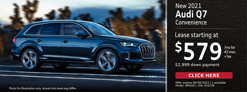 New 2021 AUDI Q7 Lease Special in Norwalk, CA