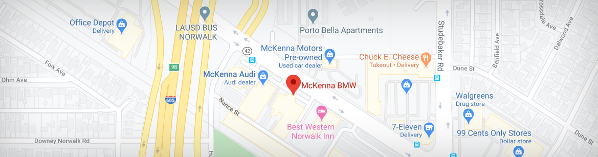 Mckenna Norwalk BMW Directions
