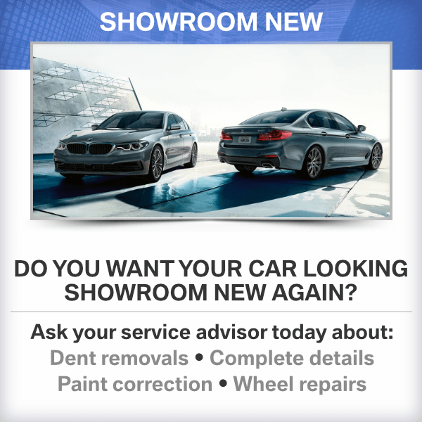 Do you want your car looking showroom new again at Mckenna BMW in Norwalk, CA