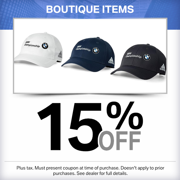 15% off Boutique items