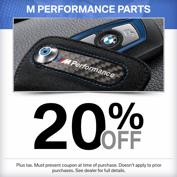 20% Off M Performance Parts Special in Norwalk, CA
