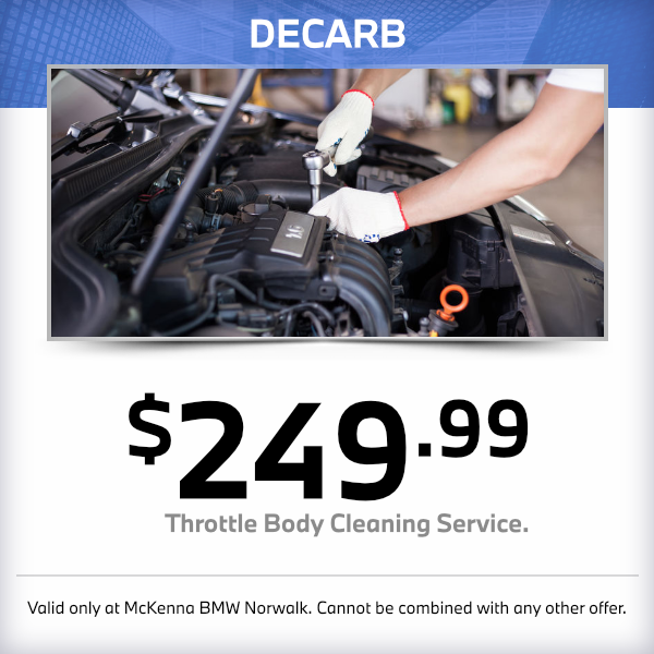 Throttle Body Cleaning Service at McKenna BMW in Norwalk, CA