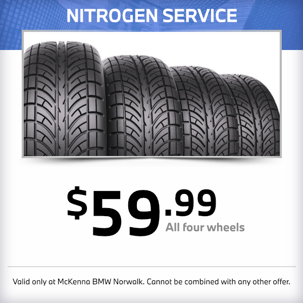 Tire Nitrogen Service at McKenna BMW in Norwalk, CA