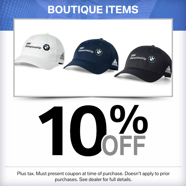 10% off Boutique items