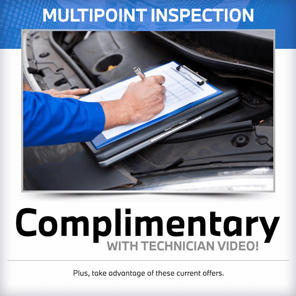Complimentary Multipoint InspectionService