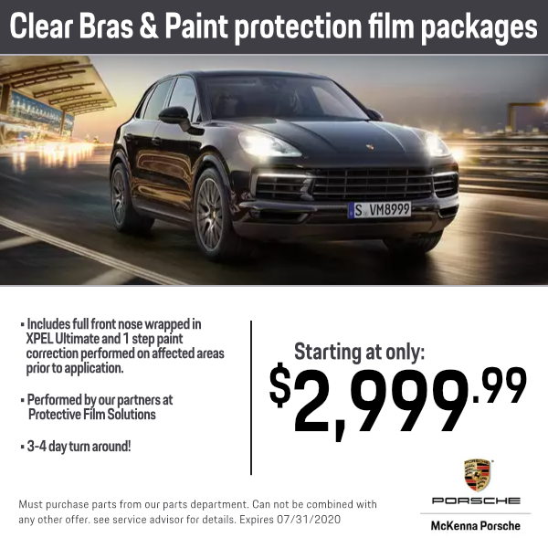 Clear Bras and Paint Protection Film Packages Service Special in Norwalk, CA