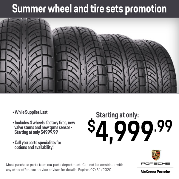 Summer wheel and tire sets promotion in Norwalk, CA