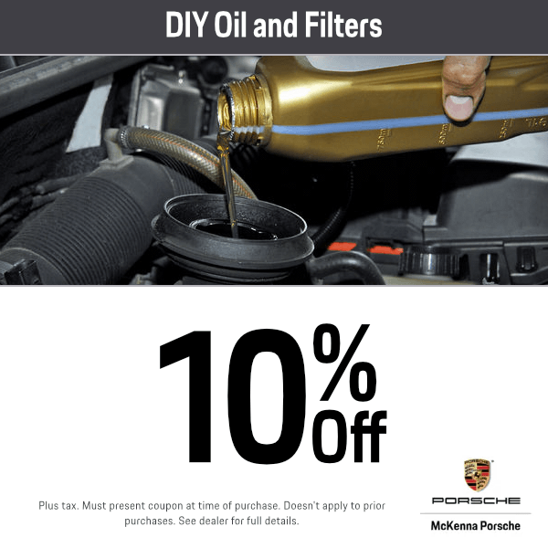 DIY Oil and Filters Parts Specials