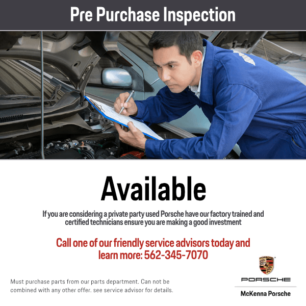 Pre Purchase Inspection Service Special