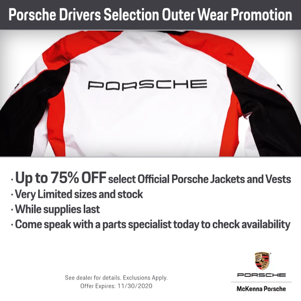 Porsche Drivers Selection Outer Wear Promotion