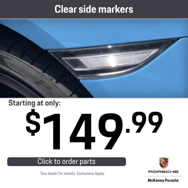 Clear Side Markers Starting at only $149.99