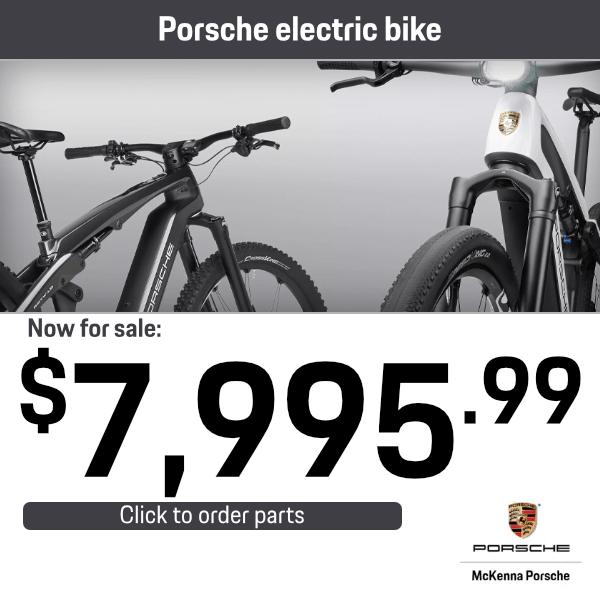 Porsche Electric Bike: Now for Sale $7,995.99