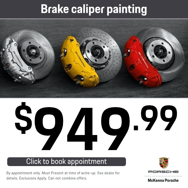 Brake caliper painting $949.99Service Special