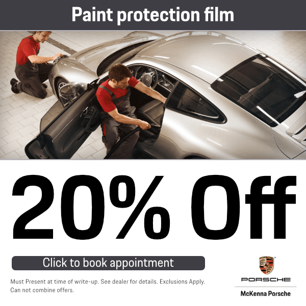 20% OFF Paint protection filmService Special