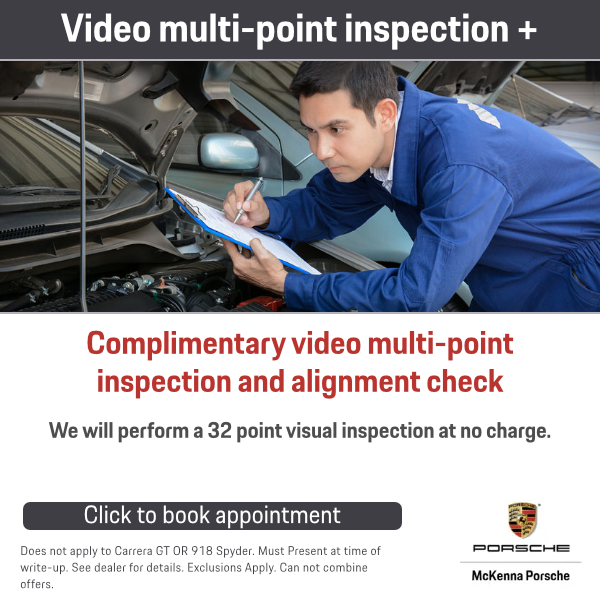 Complimentary video multi-point inspection and alignment check