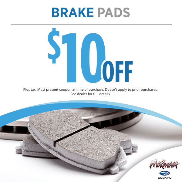 $10.00 off brake pads in Huntington Beach, CA