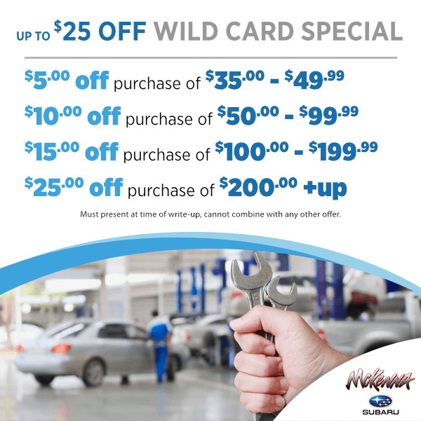 Up to $25.00 Off Wild Card Special in Huntington Beach, CA
