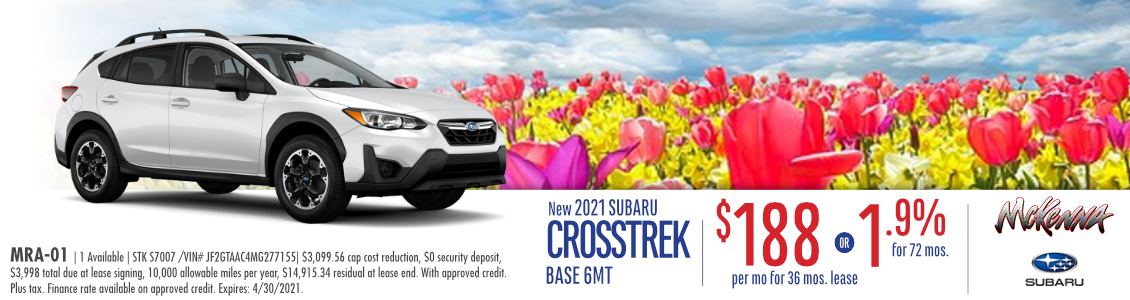 2021 Subaru Crosstrek Base 6MT Special in Huntington Beach, CA