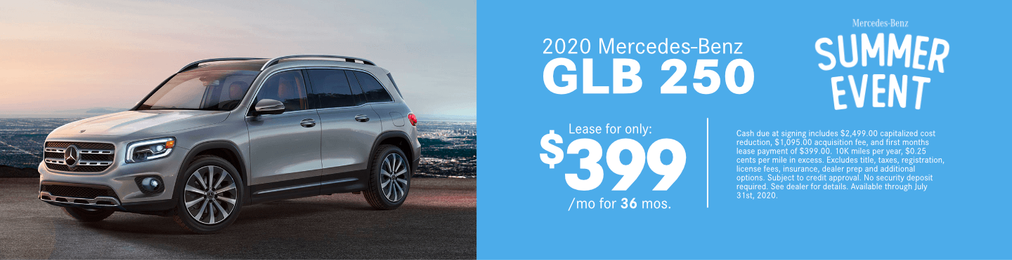 Save on a new 2020 Mercedes-Benz GLB 250 at Mercedes-Benz of Temecula in Temecula, CA