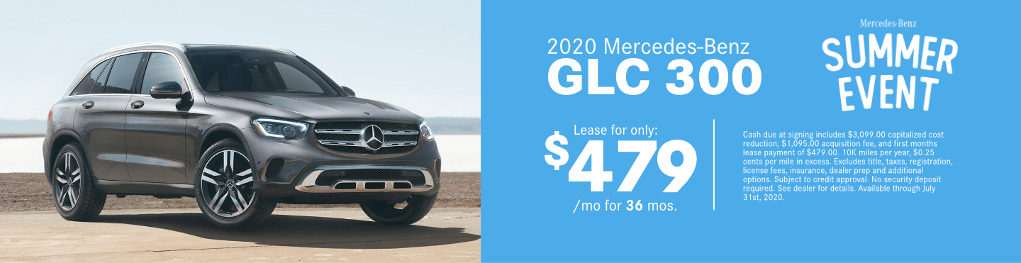 Save on a new 2020 Mercedes-Benz GLC 300 at Mercedes-Benz of Temecula in Temecula, CA