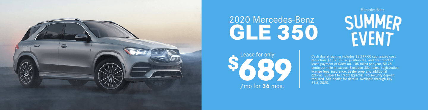 Save on a new 2020 Mercedes-Benz GLE 350 at Mercedes-Benz of Temecula in Temecula, CA