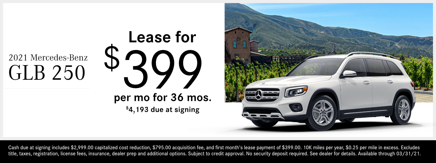 Save on a new 2021 Mercedes-Benz GLB SUV model at Mercedes-Benz of Temecula in Temecula, CA