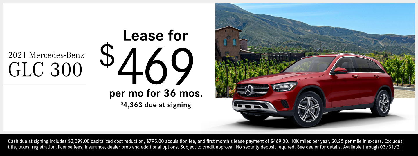 Save on a new 2021 Mercedes-Benz GLC SUV model at Mercedes-Benz of Temecula in Temecula, CA