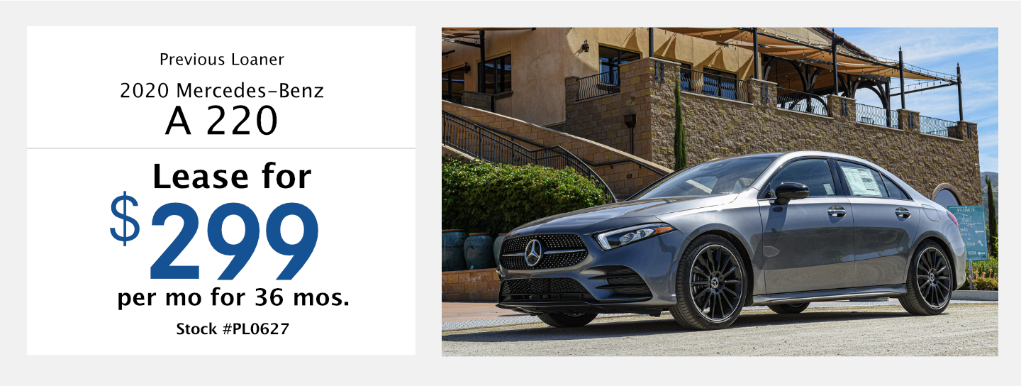 Save on this 2020 Mercedes-Benz A 220 model at Mercedes-Benz of Temecula in Temecula, CA