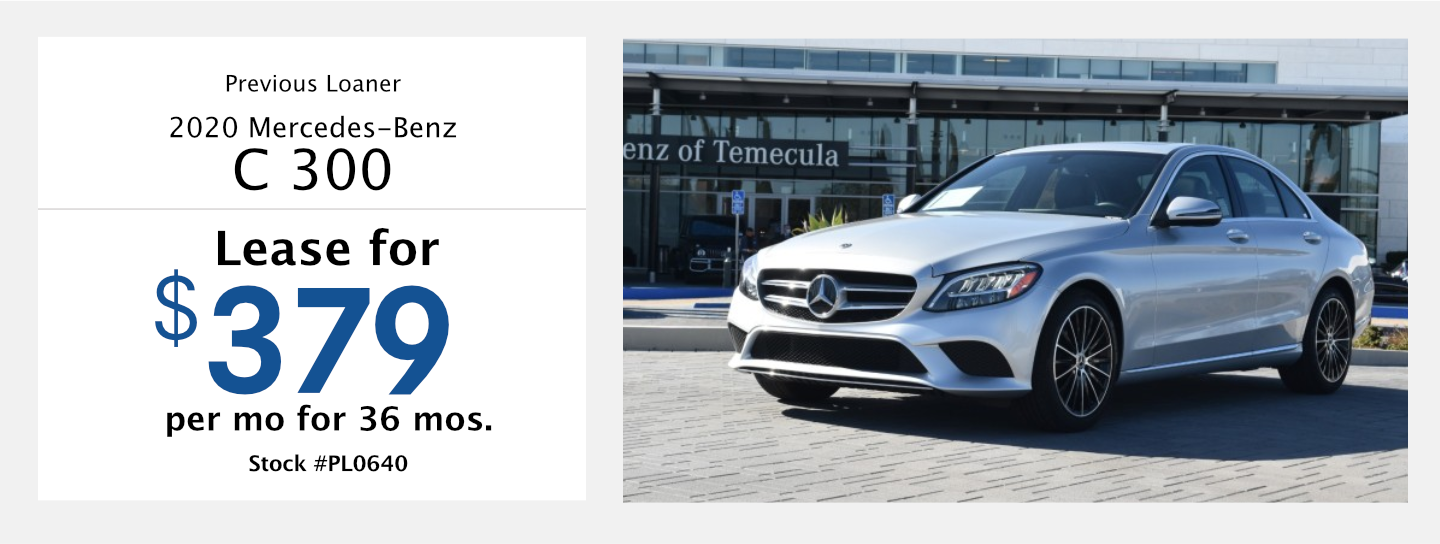 Save on this 2020 Mercedes-Benz C300 model at Mercedes-Benz of Temecula in Temecula, CA