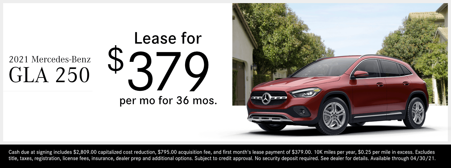 Save on a new 2021 Mercedes-Benz GLA 250 model at Mercedes-Benz of Temecula in Temecula, CA