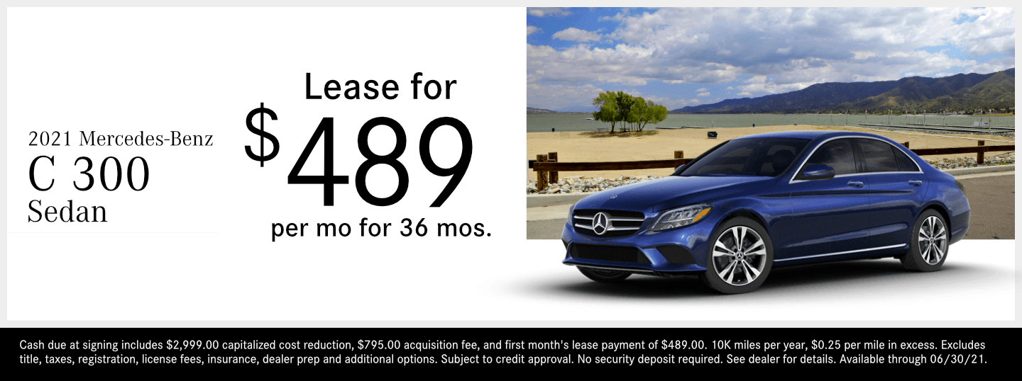 Save on a new 2021 Mercedes-Benz C Class model at Mercedes-Benz of Temecula in Temecula, CA