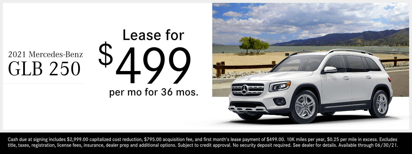 Save on a new 2021 Mercedes-Benz GLB 250 model at Mercedes-Benz of Temecula in Temecula, CA