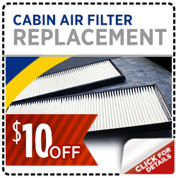 Click and save with this special Subaru service offer on a Cabin air filter replacement service in Salt Lake City, UT