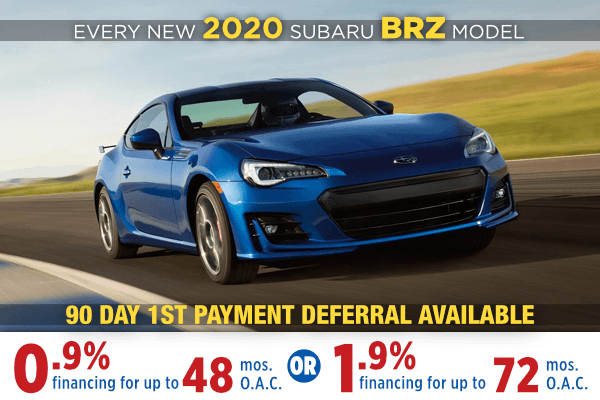 New 2020 Subaru BRZ Low Payment Finance Special in Salt Lake City, Utah